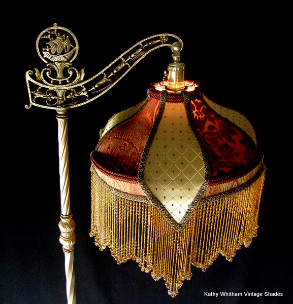 Handmade Victorian Lampshades Are Our Specialty We Also Make Custom Deco Edwardian Nouveau And Asian Style