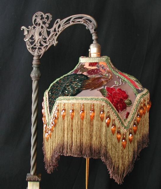 Victorian bridge lamp shades aloadofball Image collections