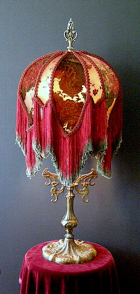 Victorian Lampshade By Vintage Shades Vs20784
