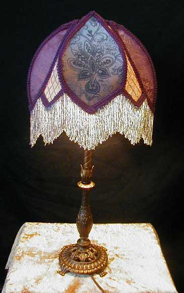 Art Deco Lampshade For Bridge Lamp